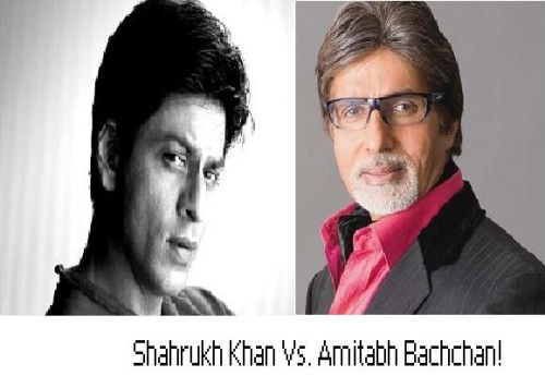 SRK Vs Big B