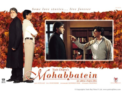SRK in Mohabatein