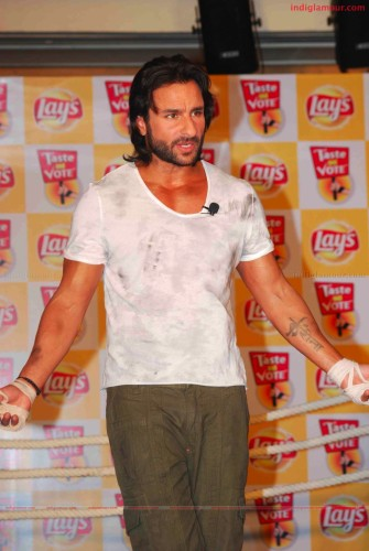 Saif Ali Khan Launches New Flavours Of lays