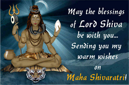 Sending You My Warm Wishes On Maha Shivaratri