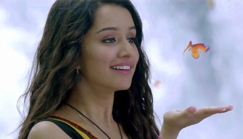 Shraddha Kapoor Catching Butterfly