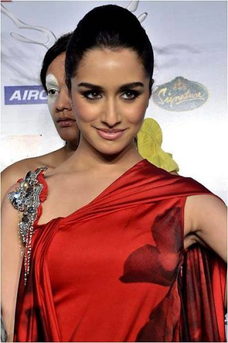 Shraddha Kapoor In Awesome Red Dress