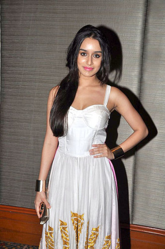 Shraddha Kapoor In Beautiful White Dress