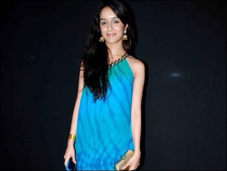 Shraddha Kapoor In Blue