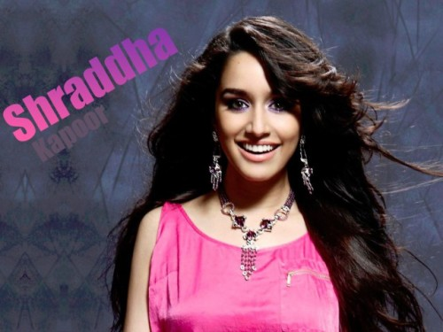 Shraddha Kapoor In Pink Top