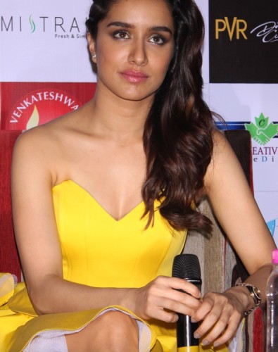 Shraddha Kapoor In Yellow Top