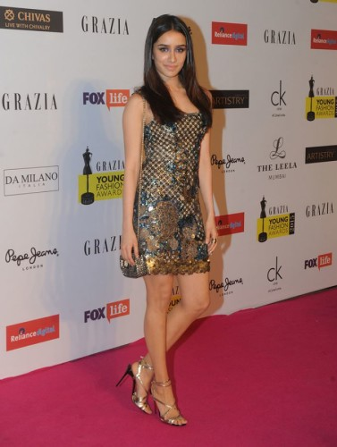 Shraddha Kapoor Looks Gorgeous At Grazia Young Awards