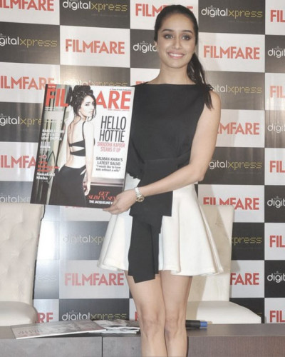 Shraddha Kapoor On Filmfare Cover