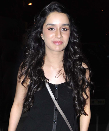 Shraddha Kapoor With Long Curls
