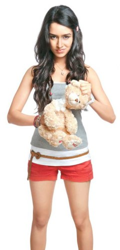 Shraddha Kapoor With Teddy