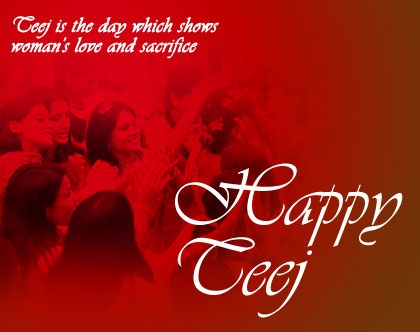 Teej Is The Day Which Shows Woman's Love And Sacrifice