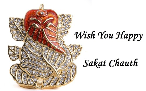 Wish You Happy Sakat Chauth