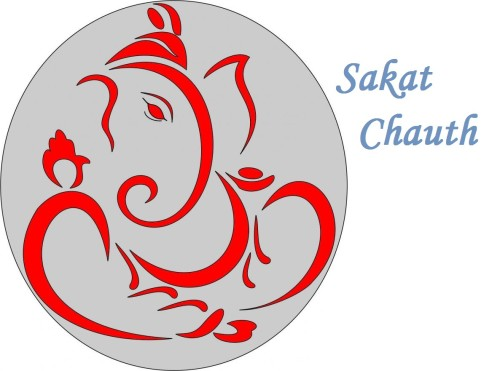 Wishing Card Of Sakat Chauth