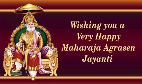 Wishing You Agrasen Jayanti