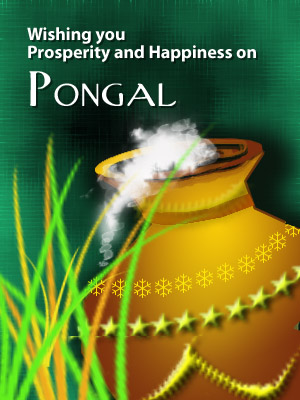 Wishing You Prosperity And Happiness On Pongal