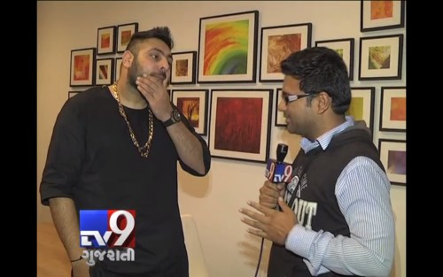 Badshah With Media