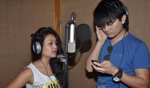 music-recording-with-neha-kakkar-and-meiyang-134408
