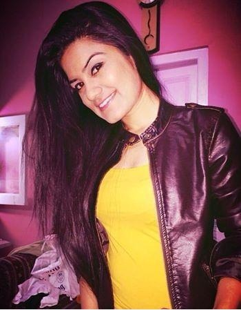Kaur B In Black Leather Jacket