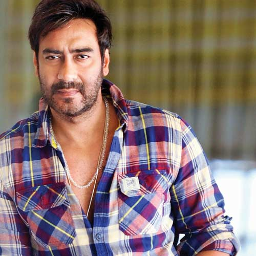 Ajay Devgn  In Coloue Full Shirt