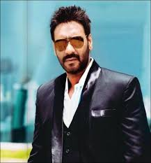 Ajay Devgn Wearing Black Coat