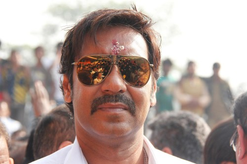Ajay Devgn  Wearing Goggles