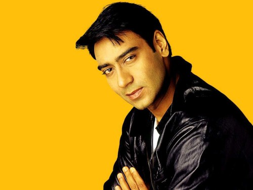 Ajay Devgn  Yellow Shading Photo