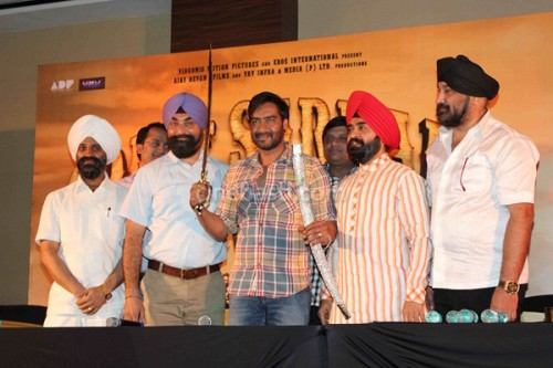 Ajay Devgn at SON OF SARDAAR Press Conference 1