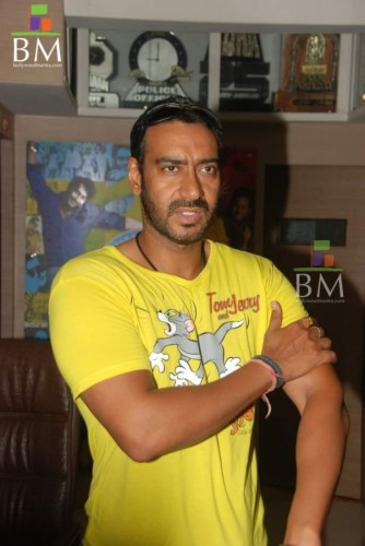 Ajay Wearing Tom and Jerry T-Shirt