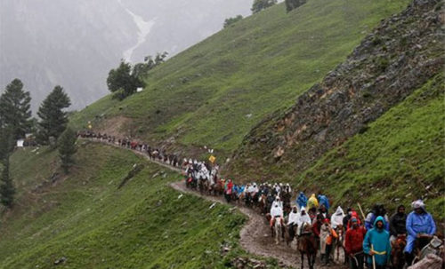 Amarnath Yatra resumes from Jammu after two days