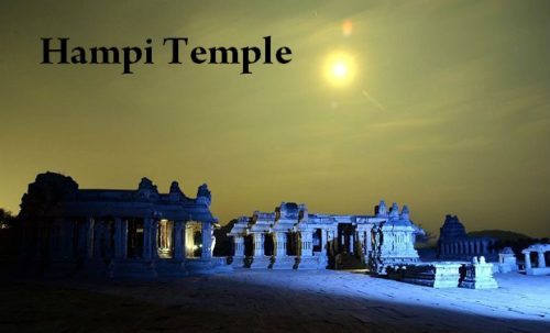 Amazing View OF Temple