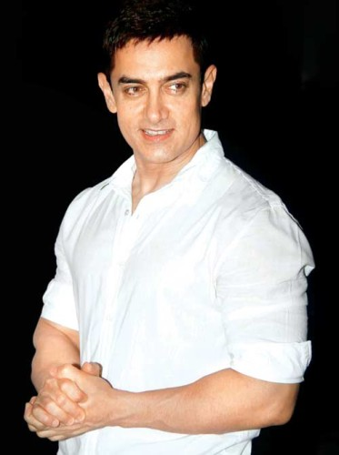 Amir Khan Awesome Look In White Shirt