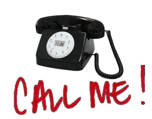 Call Me - Phone Graphic