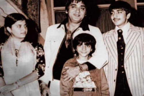 Childhood Pic OF Sanjay Dutt