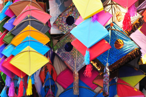 Colourful Kite Festival