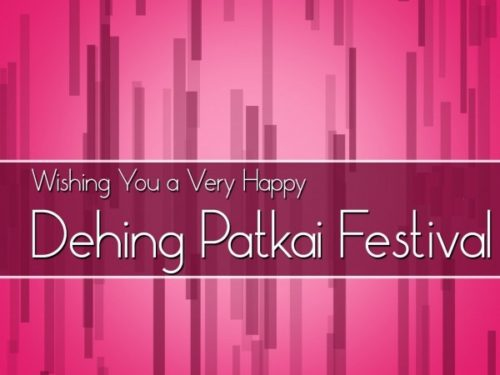 Happy Dehing Patkai Festival to you