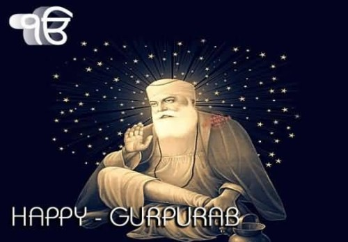 Happy Gurpurab Graphic For Share On Facebook