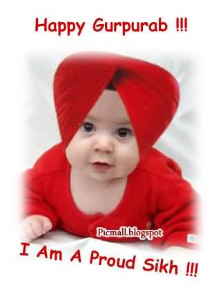 Happy Gurpurab I Am A Proud Sikh