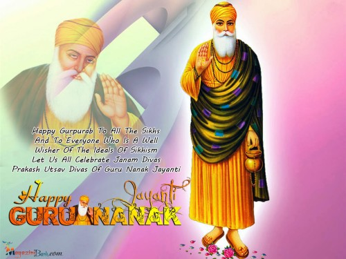 Happy Gurpurab To All The Sikhs