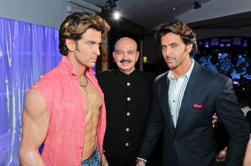 Hrithik Roshan With  His Duoble Roll
