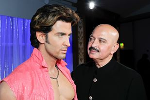 Hrithik Roshan With His Father