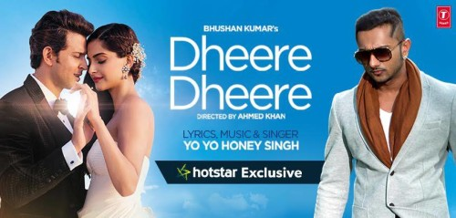 Hrithik Roshan With Honey Singh Poster