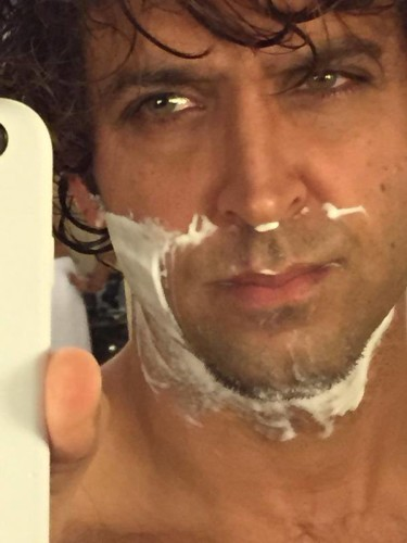 Hrithik Roshan without bread