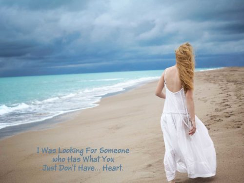 I Was Looking For Someone