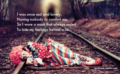 I Was Once Sad And Lonely