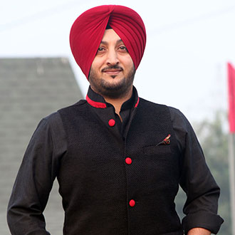 Inderjit Nikku In Black Jacket