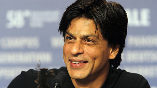 Lovely Smile OF Shahrukh Khan
