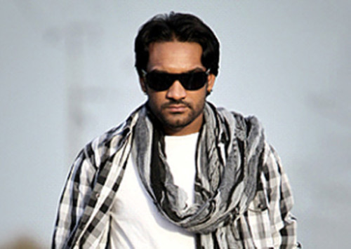 Master Saleem In White T-shirt