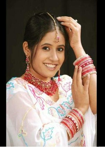 Miss Pooja In White Suit
