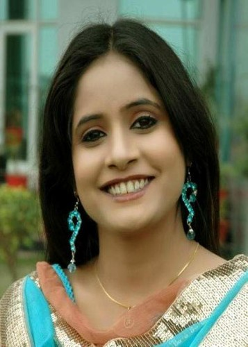 Miss Pooja Smiling Face