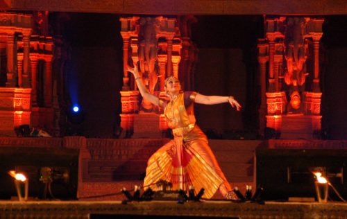 Actress Shobana Performs During Hampi Utsav In Hampi